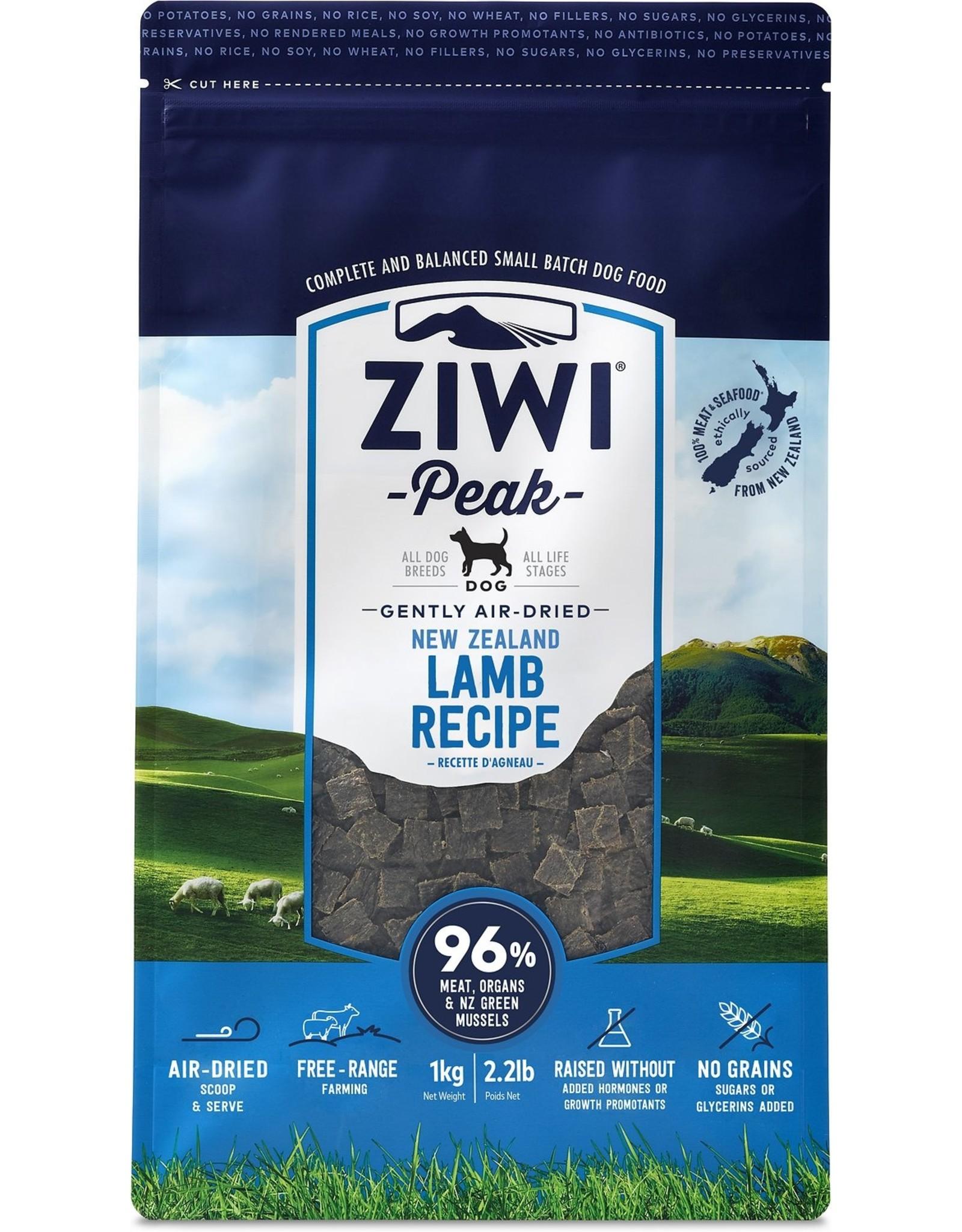 Ziwi Peak ZIWI PEAK DOG GENTLY AIR-DRIED NEW ZEALAND LAMB RECIPE