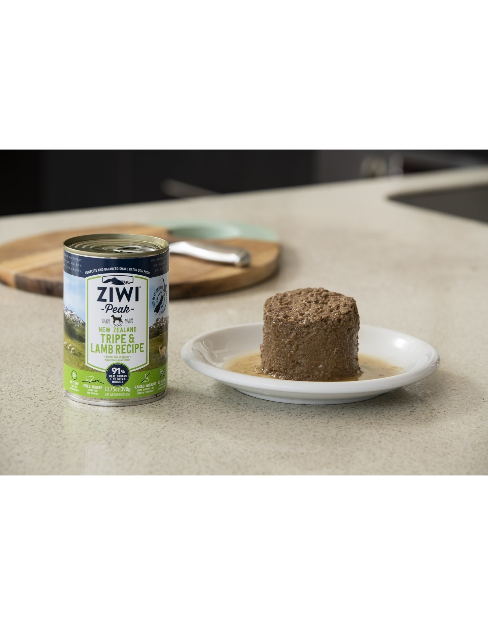 Ziwi Peak ZIWI PEAK DOG NEW ZEALAND TRIPE & LAMB RECIPE 13.75OZ