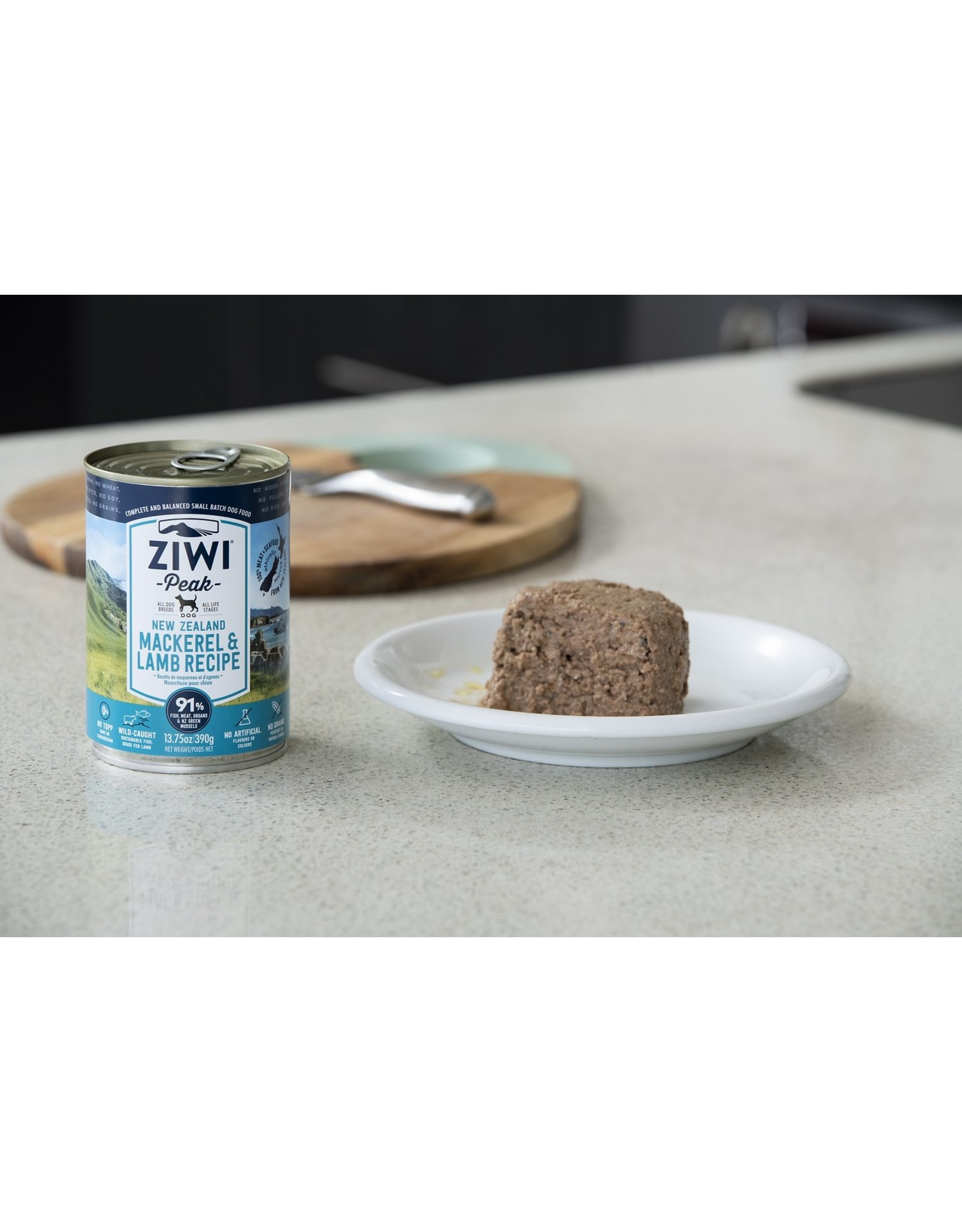 Ziwi Peak ZIWI PEAK DOG NEW ZEALAND MACKEREL & LAMB RECIPE 13.75OZ