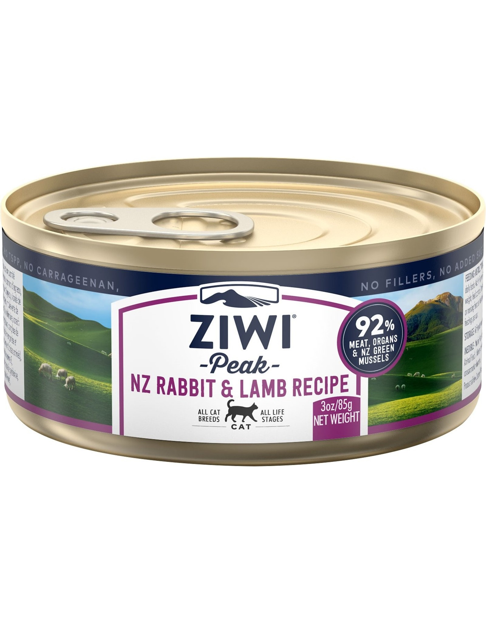 Ziwi Peak ZIWI PEAK CAT NEW ZEALAND RABBIT & LAMB RECIPE