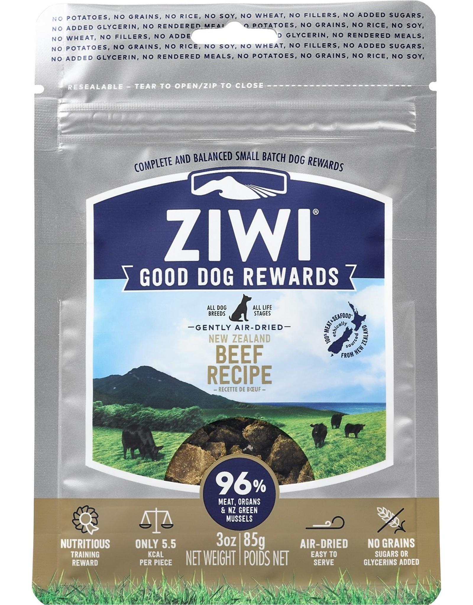 Ziwi Peak ZIWI PEAK GOOD DOG REWARDS NEW ZEALAND BEEF RECIPE 3OZ