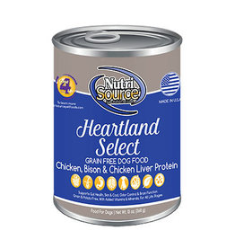 NutriSource Pet Foods NUTRISOURCE DOG HEARTLAND SELECT 13OZ