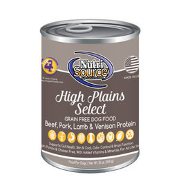 NutriSource Pet Foods NUTRISOURCE DOG HIGH PLAINS SELECT 13OZ