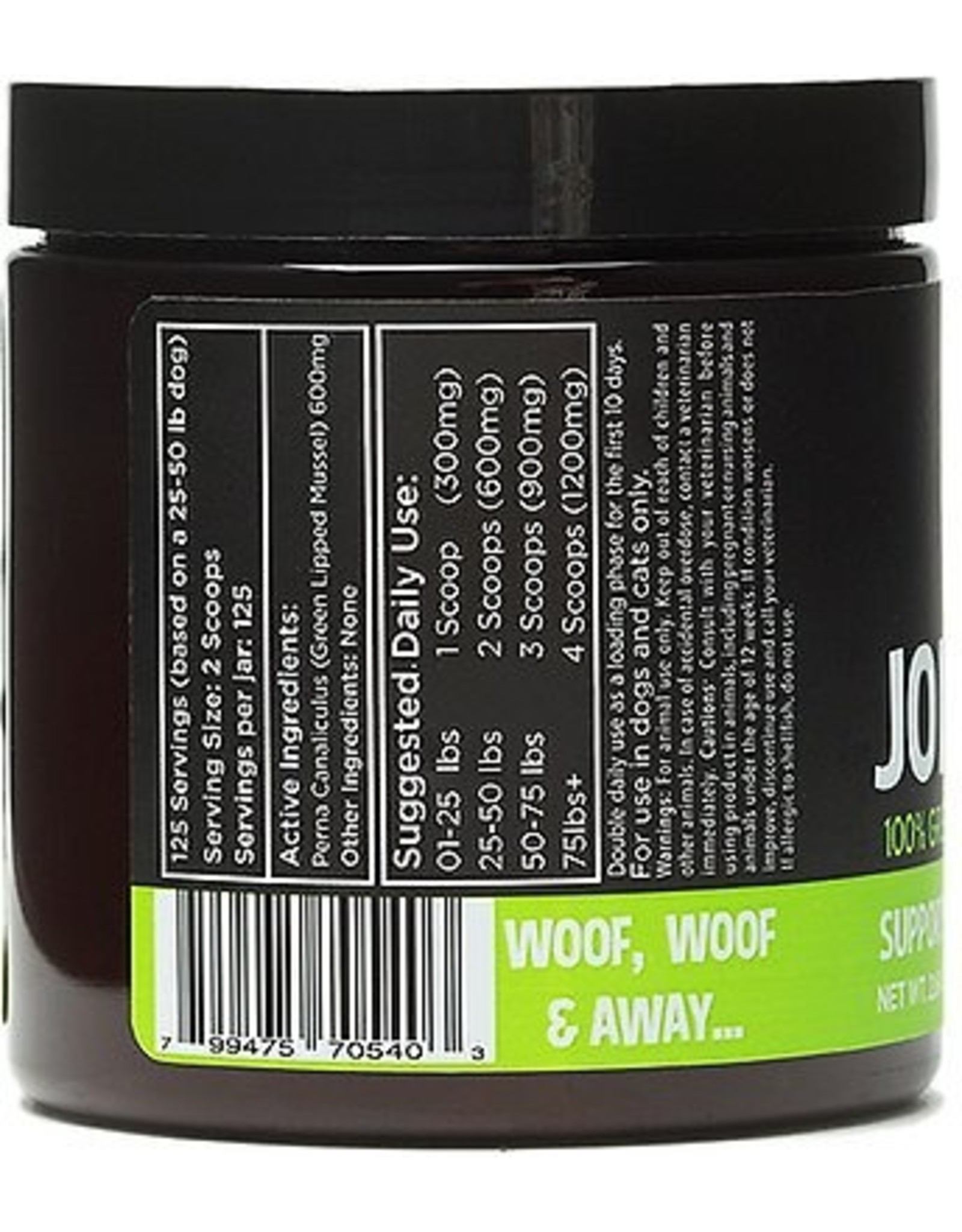 Diggin' My Dog SUPER SNOUTS JOINT POWER 100% GREEN LIPPED MUSSEL FOR DOGS & CATS 2.64OZ