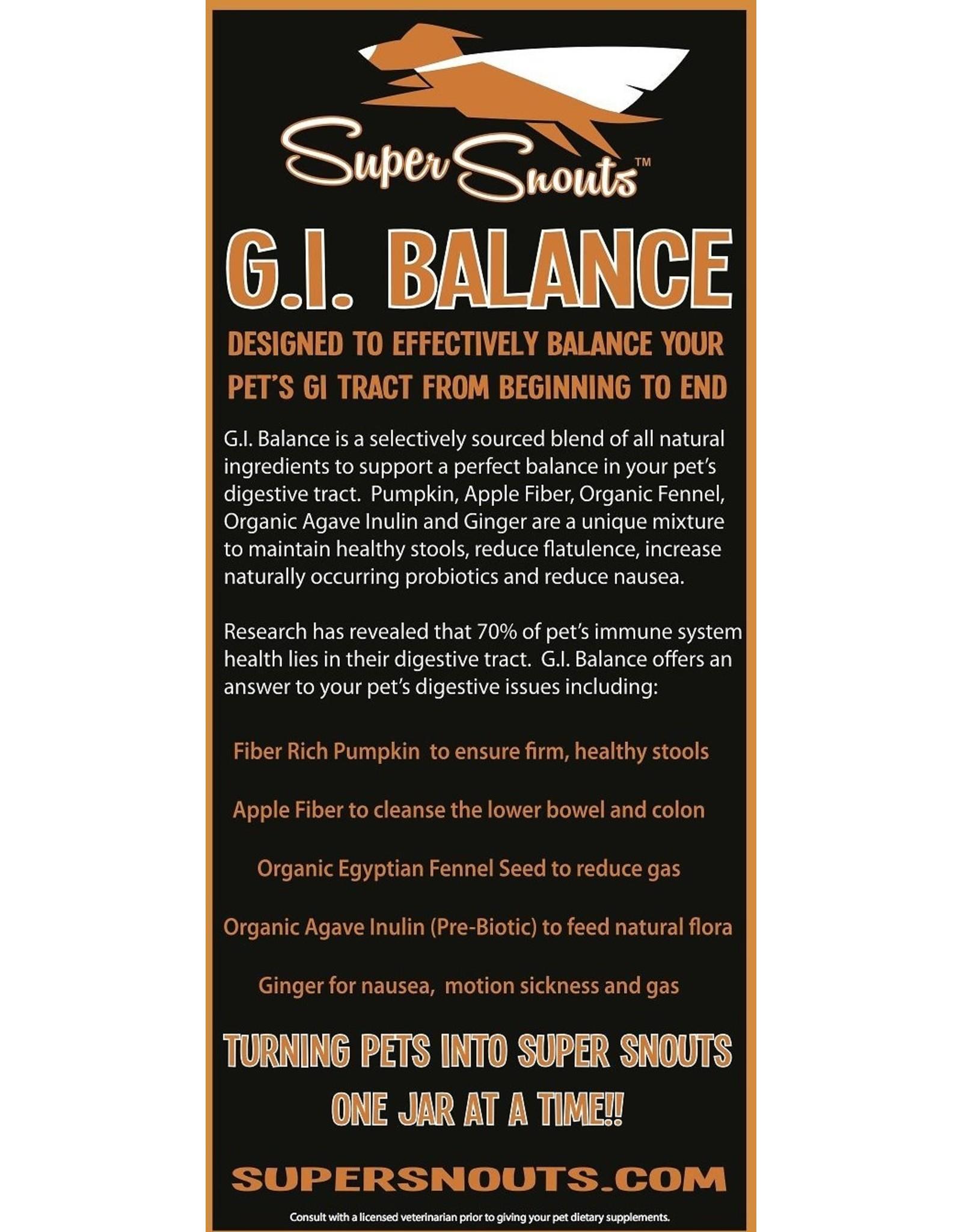 Diggin' My Dog SUPER SNOUTS GI BALANCE DIGESTIVE SUPPLEMENT 3.1OZ