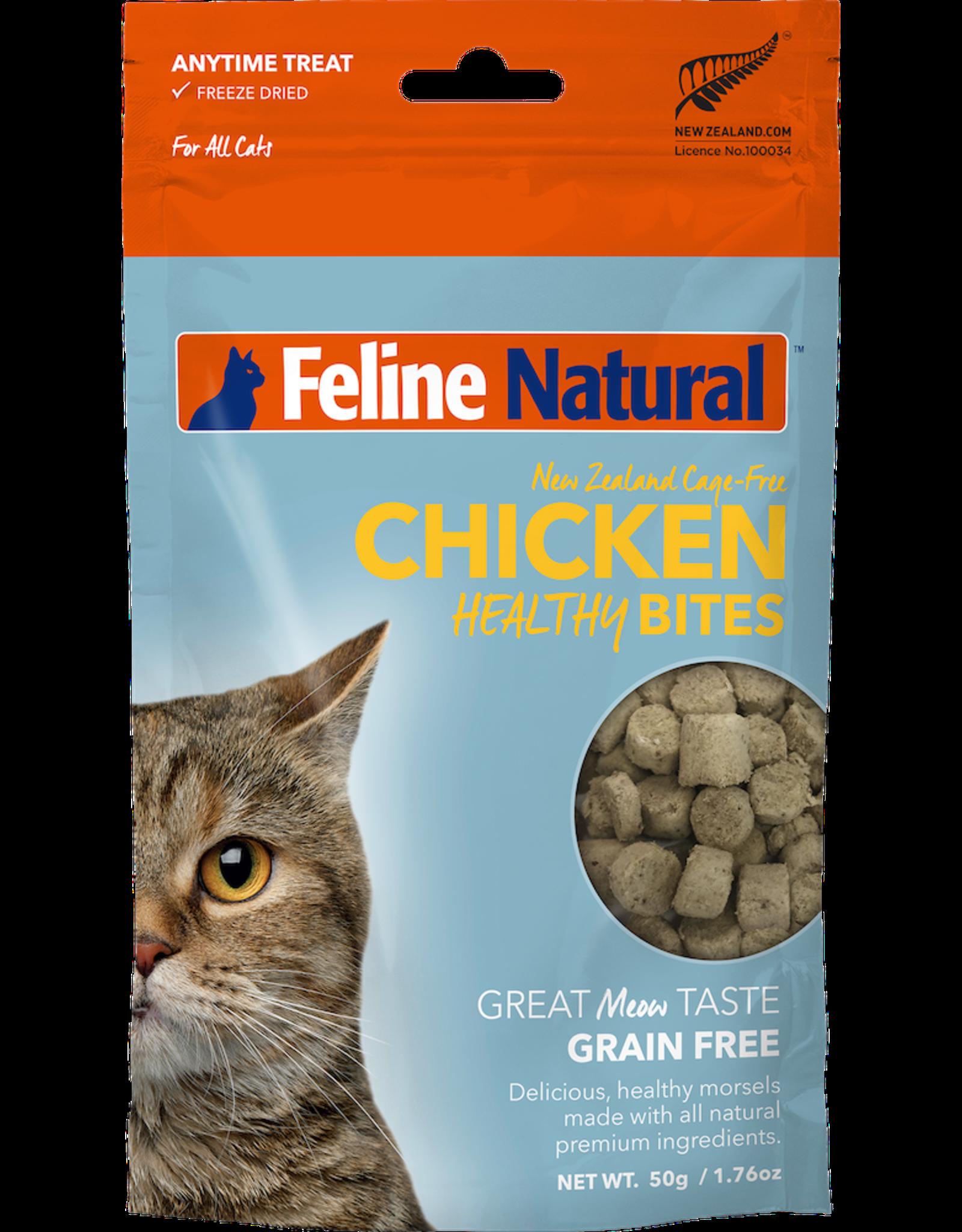 K9 Natural FELINE NATURAL CHICKEN HEALTHY BITES FREEZE DRIED CAT TREATS 1.76OZ