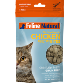 K9 Natural FELINE NATURAL CHICKEN HEALTHY BITES FREEZE DRIED CAT TREATS 1.76OZ