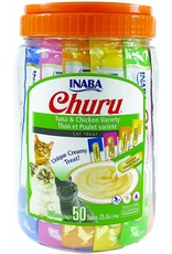 Inaba INABA CAT CHURU PURÉE TUNA & CHICKEN VARIETY 50-COUNT