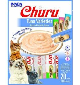 Inaba INABA CAT CHURU PURÉE TUNA VARIETIES PACK 20-COUNT