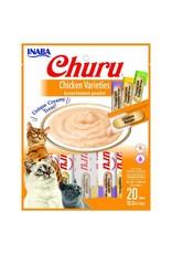 Inaba INABA CAT CHURU PURÉE CHICKEN VARIETIES 20-COUNT
