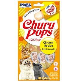Inaba INABA CAT CHURU POPS CHICKEN RECIPE 4-COUNT