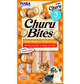 Inaba INABA CAT CHURU BITES CHICKEN RECIPE WRAPS CHICKEN RECIPE 3-COUNT