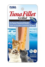 Inaba INABA CAT GRILLED TUNA FILLET IN TUNA FLAVORED BROTH .52OZ