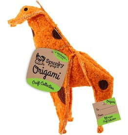Spunky Pup SPUNKY PUP CRAFT COLLECTION ORIGAMI GIRAFFE TOY