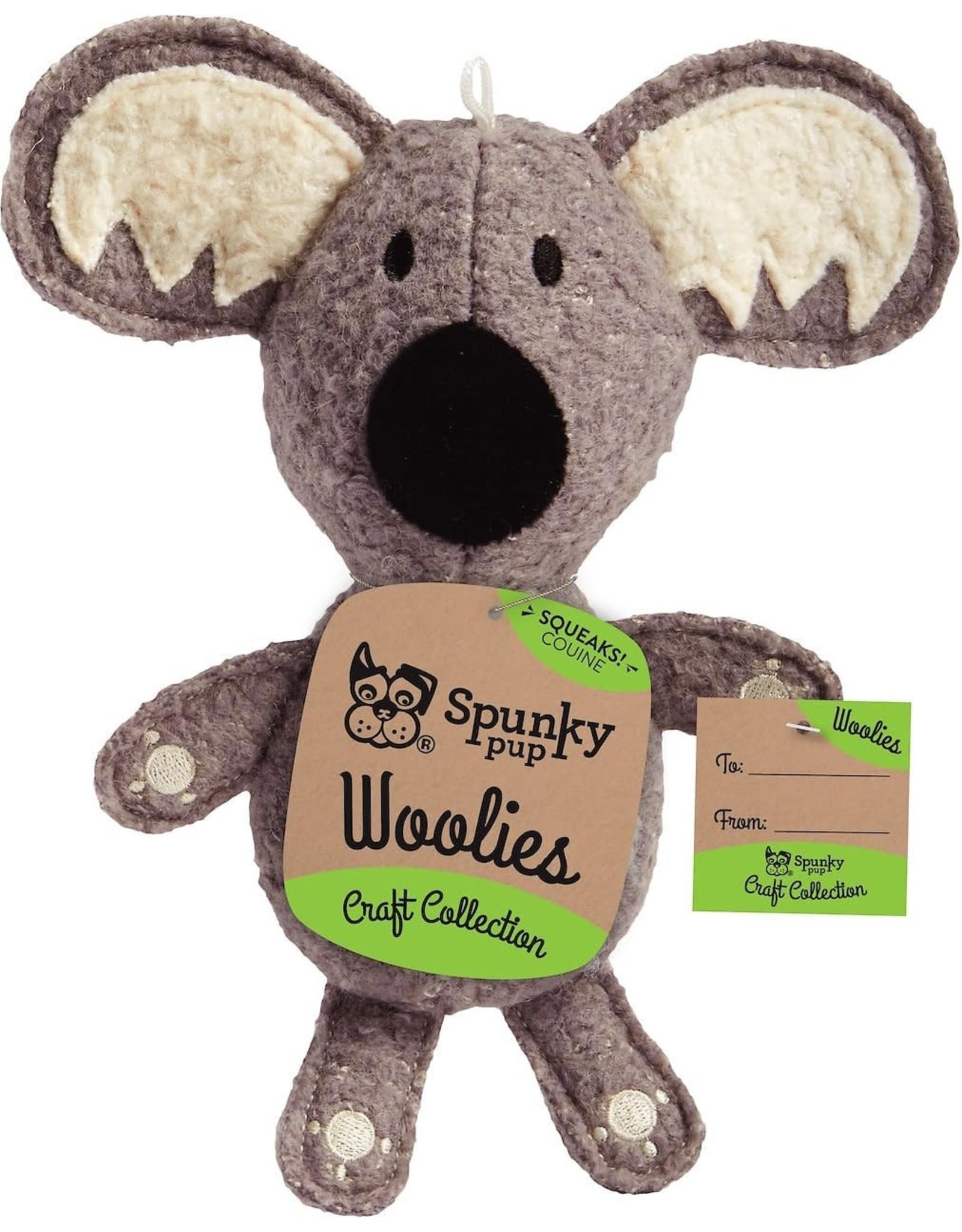 Spunky Pup SPUNKY PUP CRAFT COLLECTION WOOLIES KOALA TOY