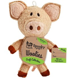 Spunky Pup SPUNKY PUP CRAFT COLLECTION WOOLIES PIG TOY