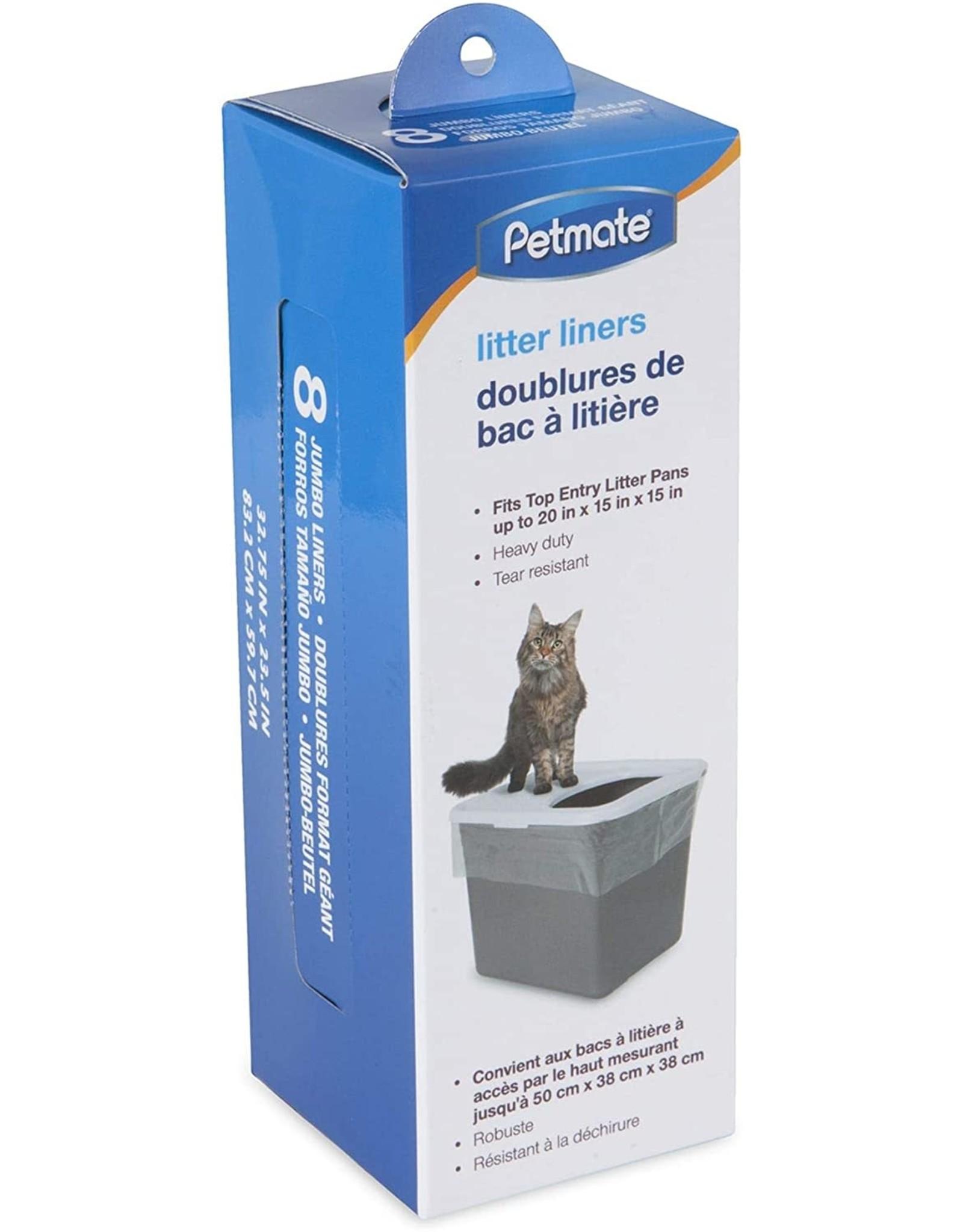 Petmate PETMATE TOP ENTRY LITTER PAN LINER 8-COUNT