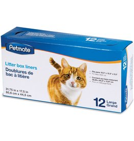 Petmate PETMATE LARGE LITTER BOX LINER 12-COUNT