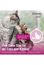 Cheristin CHERISTIN FOR CATS SPINETORAM TOPICAL SOLUTION