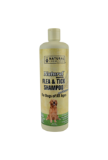 Natural Chemistry NATURAL CHEMISTRY FLEA & TICK SHAMPOO FOR DOGS WITH OATMEAL 16OZ