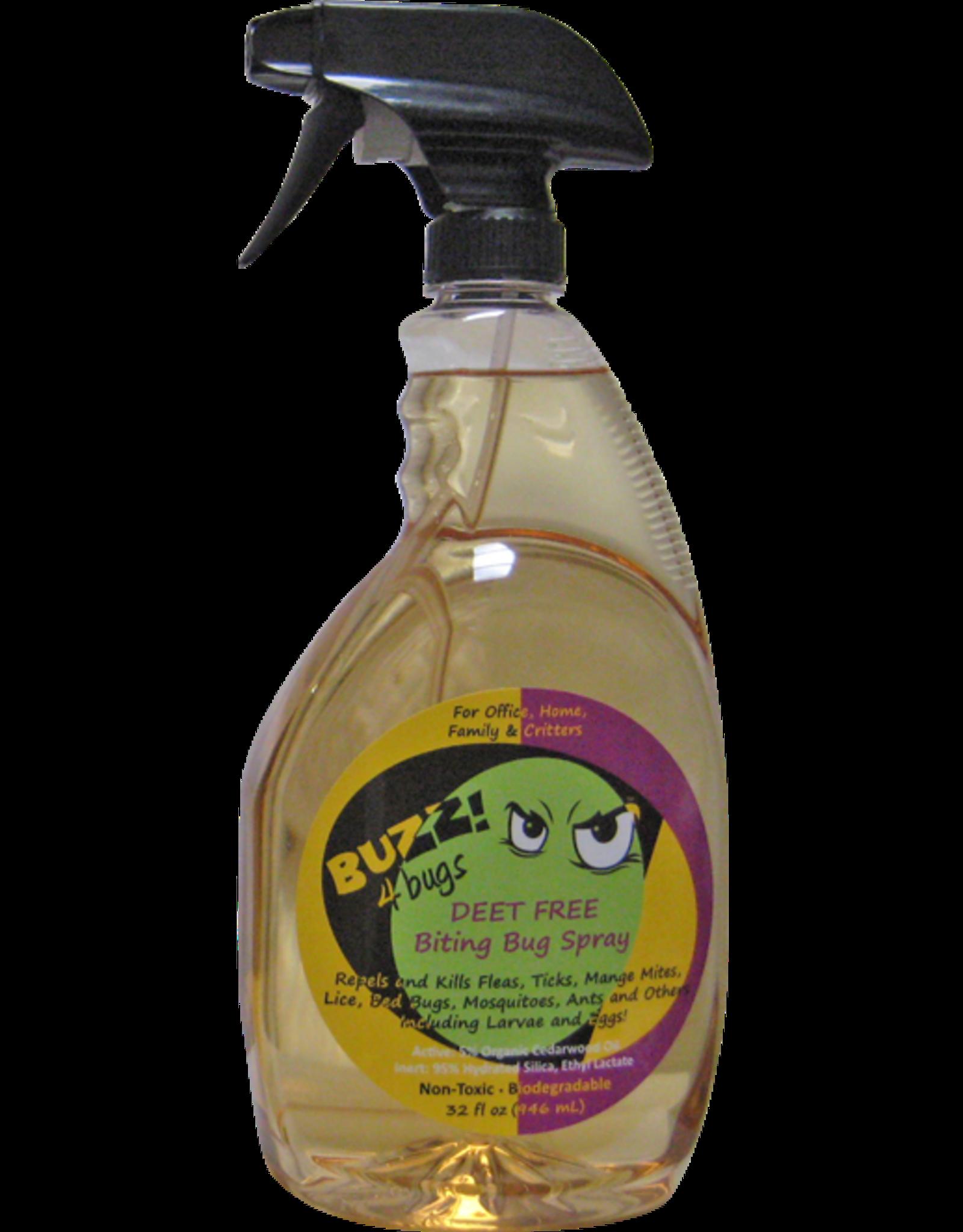 Buzz! 4 Bugs BUZZ! 4 BUGS DEET FREE BITING BUG SPRAY