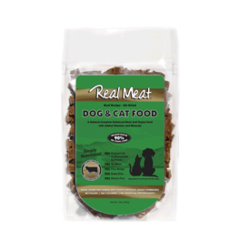 The Real Meat Company THE REAL MEAT CO. DOG AIR-DRIED BEEF RECIPE DOG FOOD