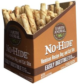 Earth Animal EARTH ANIMAL NO-HIDE VENISON CHEWS STIX SINGLE