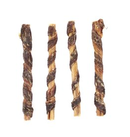 Pet Center Inc. JERKY WRAPPED BULLY STICK 9""