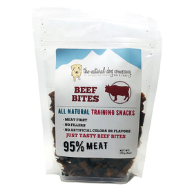 The Natural Dog Company THE NATURAL DOG COMPANY 95% BEEF TRAINING TREATS 6OZ