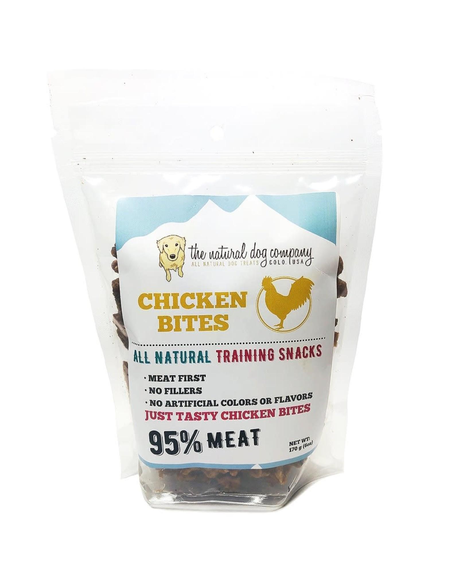 The Natural Dog Company THE NATURAL DOG COMPANY 95% CHICKEN TRAINING TREATS 6OZ
