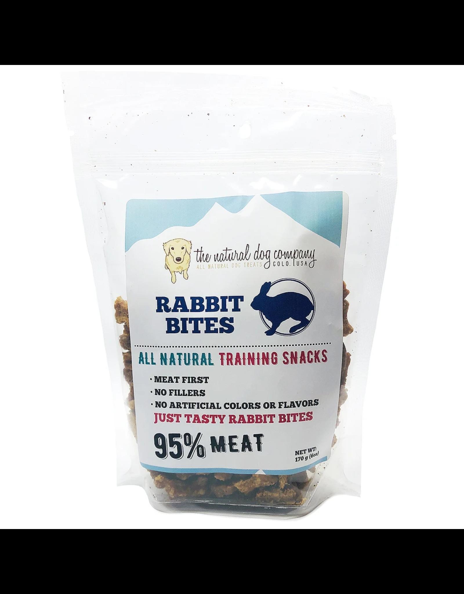 The Natural Dog Company THE NATURAL DOG COMPANY 95% RABBIT TRAINING TREATS 6OZ