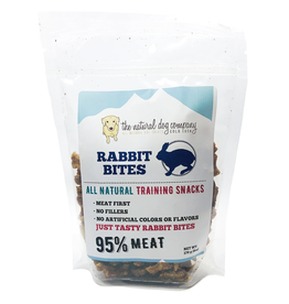 The Natural Dog Company THE NATURAL DOG COMPANY 95% RABBIT TRAINING TREATS 6OZ