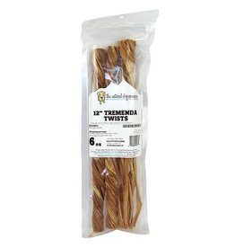 The Natural Dog Company THE NATURAL DOG COMPANY TREMENDA TWISTS 6OZ BAG
