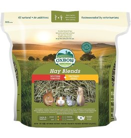 Oxbow Animal Health OXBOW HAY BLENDS WESTERN TIMOTHY + ORCHARD GRASS 40OZ