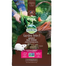 Oxbow Animal Health OXBOW GARDEN SELECT ADULT RAT FOOD 2.5LB