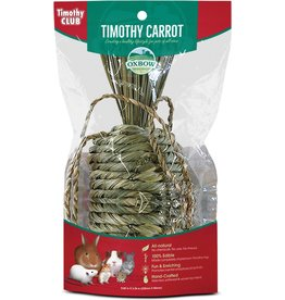 Oxbow Animal Health OXBOW TIMOTHY CLUB TIMOTHY CARROT SMALL ANIMAL TREAT