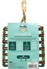 Oxbow Animal Health OXBOW ENRICHED LIFE APPLE STICK HAY SMALL ANIMAL FEEDER