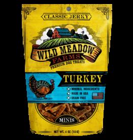 Wild Meadow Farms WILD MEADOW FARMS CLASSIC JERKY TURKEY MINIS 4OZ