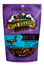 Wild Meadow Farms WILD MEADOW FARMS CLASSIC JERKY DUCK MINIS 4OZ