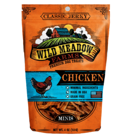 Wild Meadow Farms WILD MEADOW FARMS CLASSIC JERKY CHICKEN MINIS 4OZ