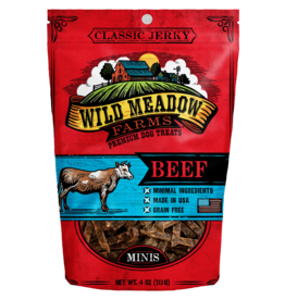 Wild Meadow Farms WILD MEADOW FARMS CLASSIC JERKY BEEF MINIS 4OZ