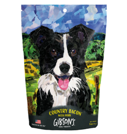 Wild Meadow Farms GIBSON'S COUNTRY BACON WITH PORK DOG TREATS 3OZ