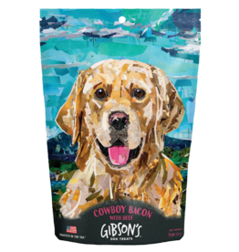 Wild Meadow Farms GIBSON'S COWBOY BACON WITH BEEF DOG TREATS 3OZ