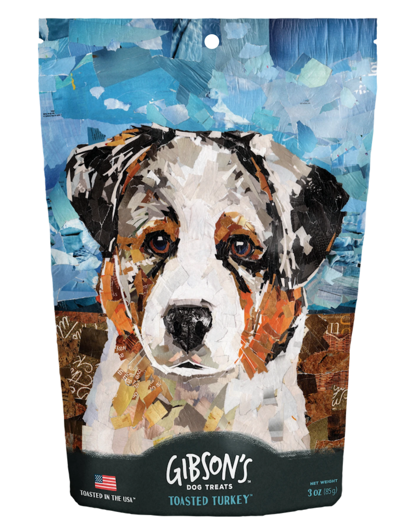 Wild Meadow Farms GIBSON'S TOASTED TURKEY DOG TREATS 3OZ