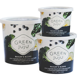 Green Juju Kitchen GREEN JUJU DOG BAILEY'S BLEND WITH TURKEY BONE BROTH