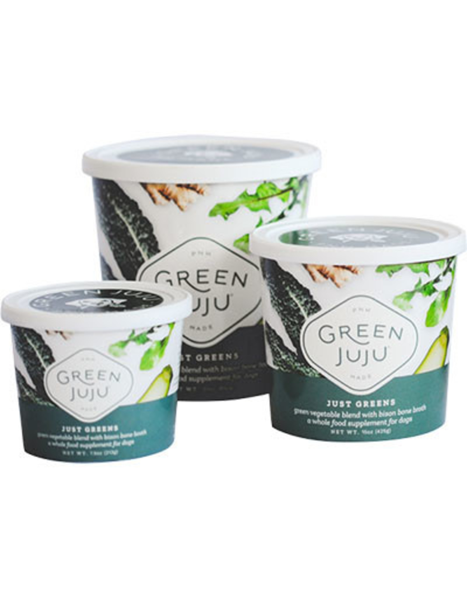 Green Juju Kitchen GREEN JUJU DOG JUST GREENS WITH BISON BONE BROTH
