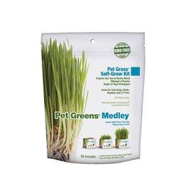 Pet Greens PET GREENS MEDLEY OAT, RYE & BARLEY BLEND SELF-GROW PET GRASS