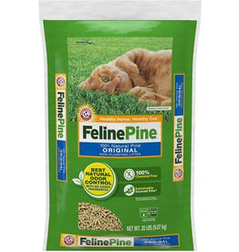 Arm & Hammer FELINE PINE 100% NATURAL PINE ORIGINAL NON-CLUMPING CAT LITTER 20LB
