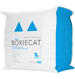 Boxiecat BOXIECAT SCENT FREE PREMIUM CLUMPING CLAY LITTER