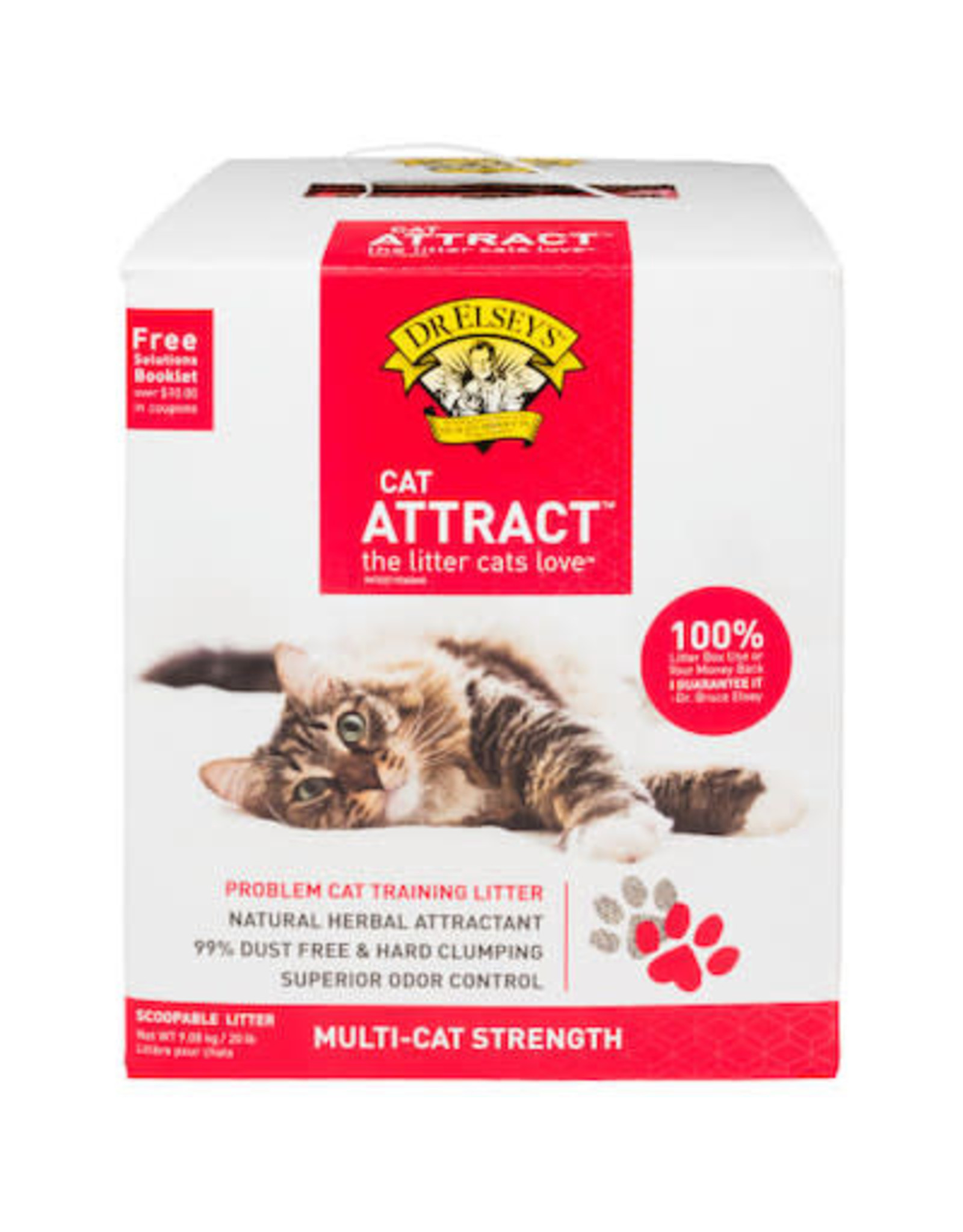 Dr. Elsey's DR. ELSEY'S CAT ATTRACT MULTI-CAT STRENGTH LITTER